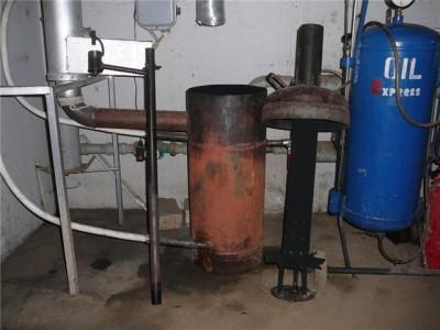 Форум: Отопление на отработанном масле - Показать сообщение отдельно - Фотографии котла на отработанном масле...