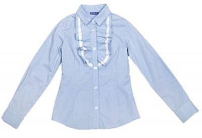 Блузки На Девочек Синего Цвета