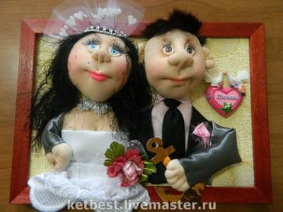 Портрет жениха и невесты своими руками 19