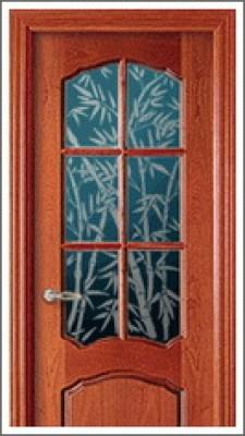 Как задекорировать стекло на двери своими руками 43