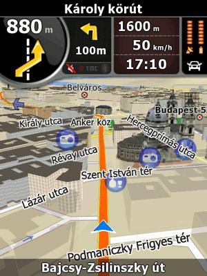 Navngo igo8 - одна из лучших систем 3d-навигации для кпк на сегодняшний день