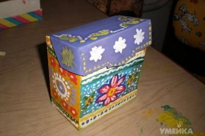 Поделки из коробок от чая своими руками